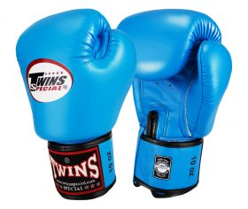 Twins Muay Thai Boxing Gloves (BGVL-3) Light Blue