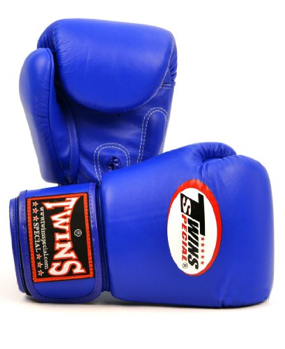 Twins Muay Thai Boxing Gloves (BGVL-3) Blue