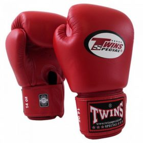 Twins Muay Thai Boxing Gloves (BGVL-3) Red