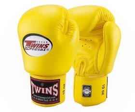 Twins Muay Thai Boxing Gloves (BGVL-3) Yellow