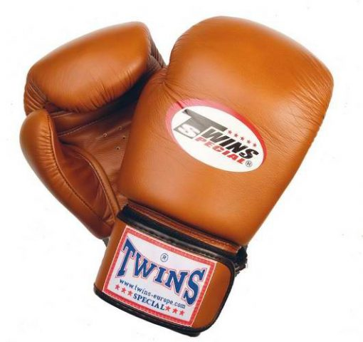 Twins Muay Thai Boxing Gloves (BGVL-3) Brown