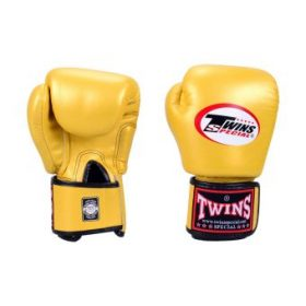 Twins Muay Thai Boxing Gloves (BGVL-3) Gold