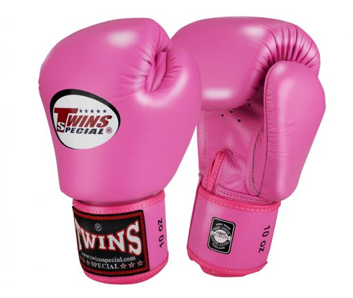 Twins Muay Thai Boxing Gloves (BGVL-3) Pink