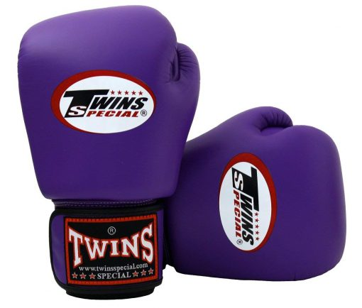 Twins Muay Thai Boxing Gloves (BGVL-3) Purple