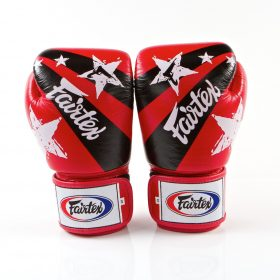 Fairtex Red Nation Boxing Gloves (BGV1)