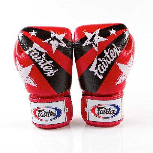 Fairtex Red Nation Boxing Gloves (BGV1)