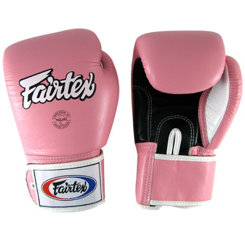 Pink Fairtex Boxing Gloves