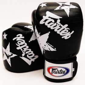 Fairtex Black Nation Boxing Gloves (BGV1)
