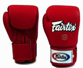 Red Fairtex Boxing Gloves
