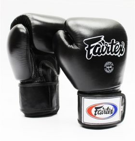 Black Fairtex Boxing Gloves