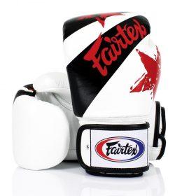 Fairtex White Nation Boxing Gloves (BGV1)