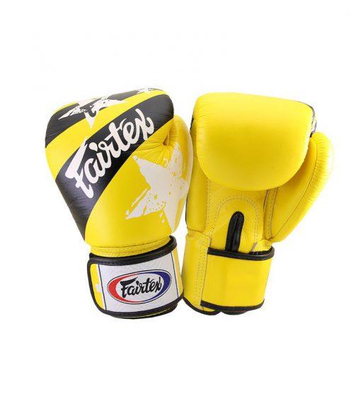 Fairtex Yellow Nation Boxing Gloves (BGV1)