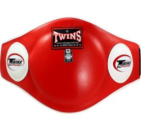 Twins Belly Protector w/ velcro (Red)