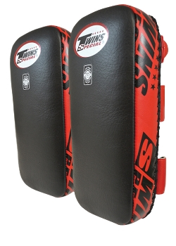 Twins Leather Thai Pads (Buckle)-0
