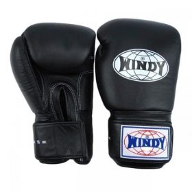 Windy Boxing Gloves (Black)