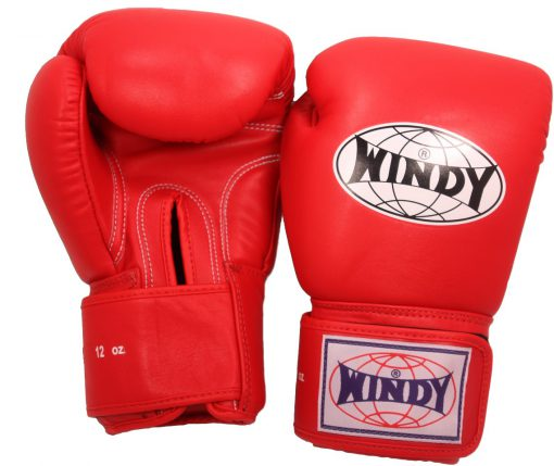 Windy Boxing Gloves (Red)