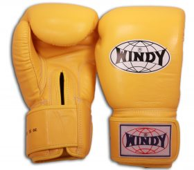 Windy Boxing Gloves (Yellow)