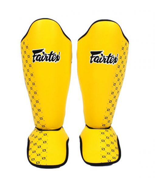 Fairtex Competition Shin Pads - Yellow (SP5)