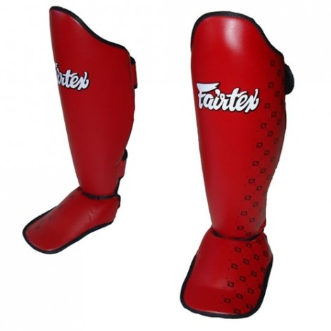 Fairtex Competition Shin Pads - Red (SP5)