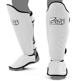Fairtex Competition Shin Pads - White (SP5)