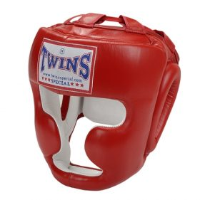 Twins Headgear Full Face Head Gear (Red)-0