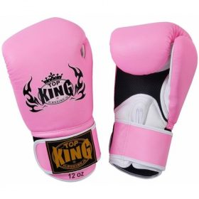 Top King Super Air Pink Boxing Gloves