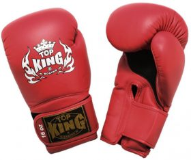 Top King Super Air Red Boxing Gloves
