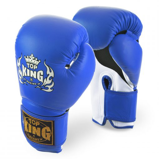 Top King Super Air Blue Boxing Gloves