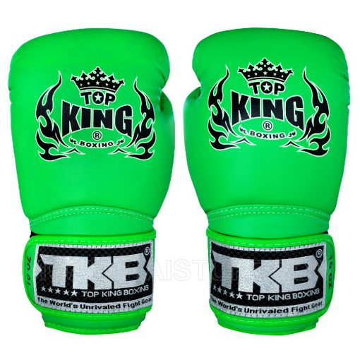 Top King Super Air Green Boxing Gloves