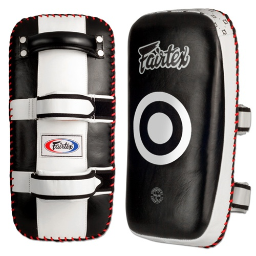 Fairtex Extra Thick Curved Thai Kick Pads (KPLC3)-0