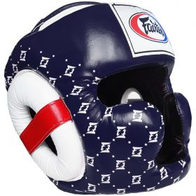 Fairtex Headgear HG10 Dark Blue