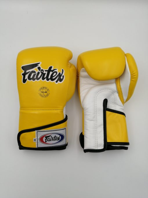 Fairtex BGV6 Boxing Gloves Yellow