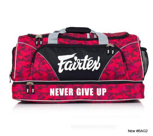 Fairtex Gym Bag (BAG2) Red Camo