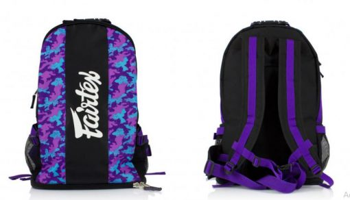 Fairtex Backpack (BAG4) Purple Camo