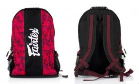 Fairtex Backpack (BAG4) Red Camo