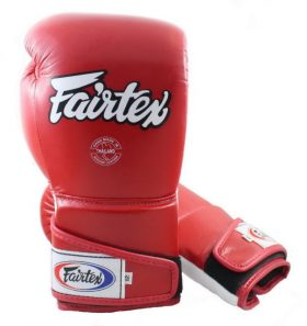 Fairtex Angular Sparring Gloves Red BGV6
