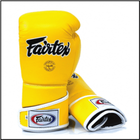 Fairtex Angular Sparring Gloves Yellow BGV6