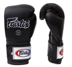 Fairtex Pro Training Gloves BGV9 Mexican Style Black