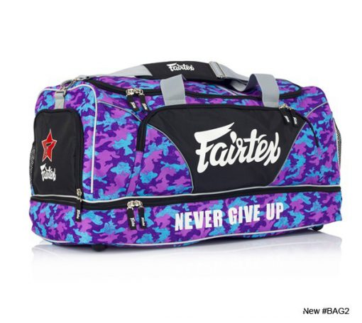 Fairtex Gym Bag (BAG2) Purple/Blue Camo