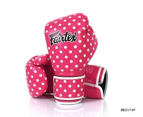 Fairtex Vintage Art Polka Dot Boxing Gloves (BGV14) canada