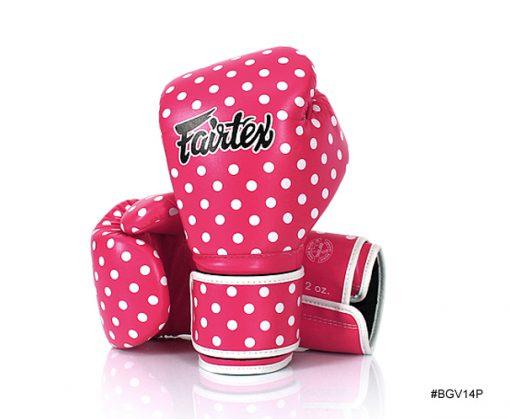 Fairtex Vintage Art Polka Dot Boxing Gloves (BGV14) canada