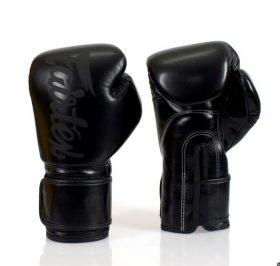 Fairtex Black on Black Boxing Gloves (BGV14)