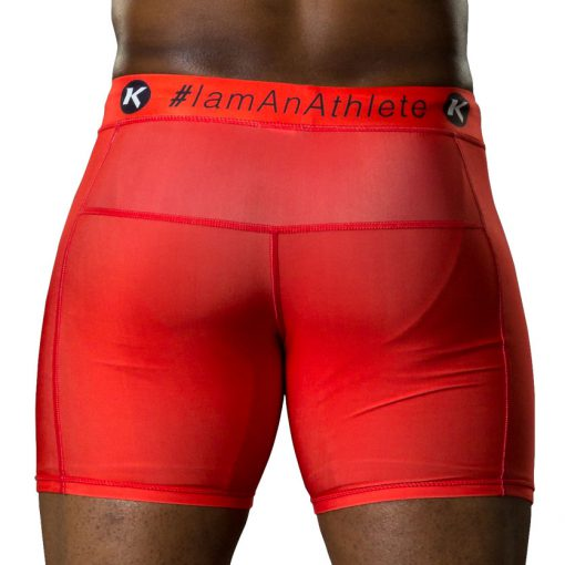 Kimurawear Vale Tudo Compression Shorts - Red