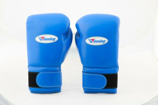 Winning Velcro Boxing Gloves Blue Canada