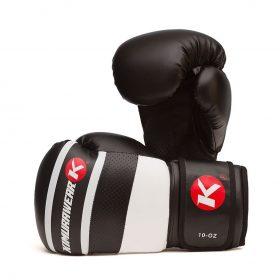Kimurawear Aspire Agari 10oz Boxing Gloves - White