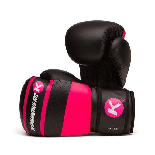 Kimurawear Aspire Agari 12oz Boxing Gloves - Pink