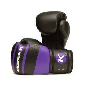 Kimurawear Aspire Agari 12oz Boxing Gloves - Purple