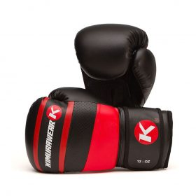 Kimurawear Aspire Agari 12oz Boxing Gloves - Red