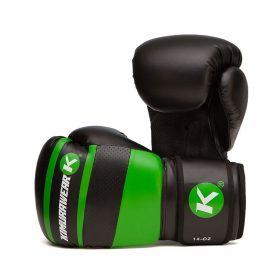 Kimurawear Aspire Agari 14oz Boxing Gloves - Green