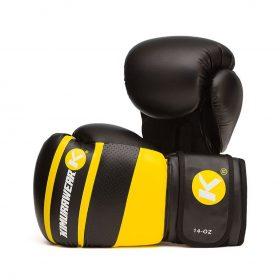 Kimurawear Aspire Agari 14oz Boxing Gloves - Yellow